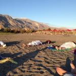 Yogastunde am Meer